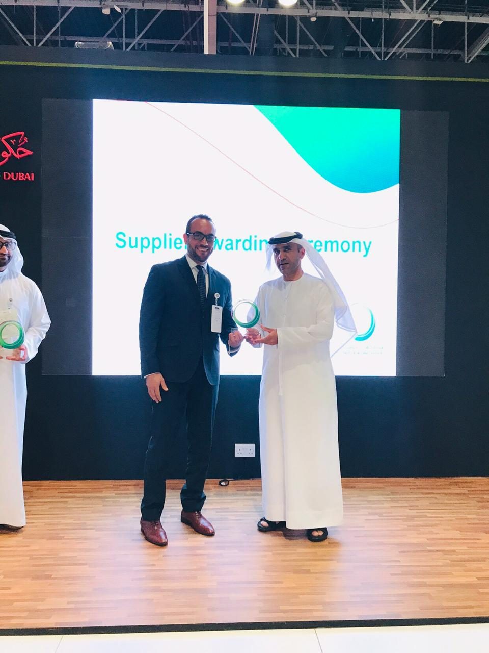 Dubai Electricity Water Authority Awards De Nora in Recognition Ceremony