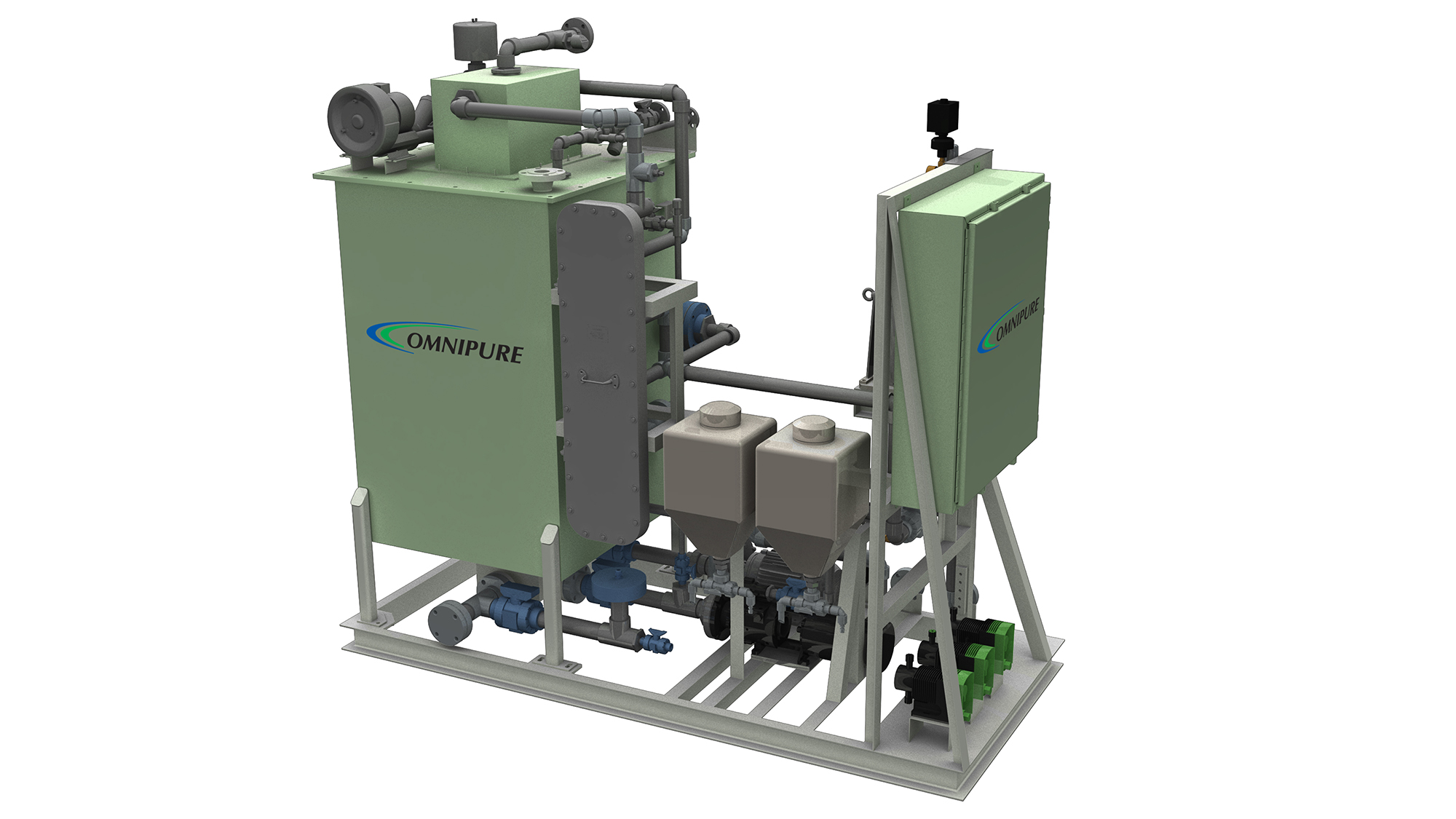 De Nora unveils all new OMNIPURE™ Series 64 marine sewage treatment system